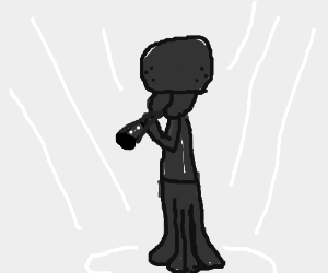 Squidward plays clarinet