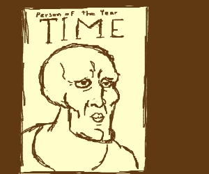 Handsome Squidward is Time's Person ofthe Year