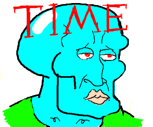 Handsome Squidward = TIME person of the year!
