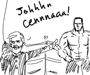 """Wrestling Announcer welcomes """"JOHN CENA!"""""""