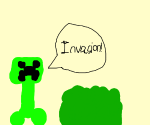 Creepers invade plants