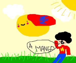 Flying Mango Man