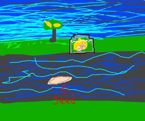 Pickled Lemon loses child in the River