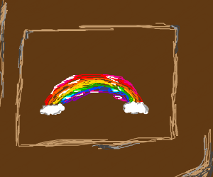 Why is there a rainbow inside this box?