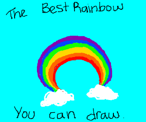 The best rainbow you can draw