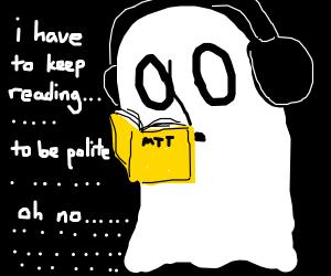 i don't like reading. . . . . . . .
