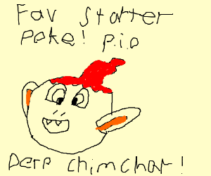 Favorite Starter Pokemon! P.I.O (Pass it on)!