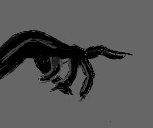 The hand... Of DARKNESS! Spooooooooooooooooky!