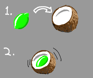 You put the Lime in the Coconut...