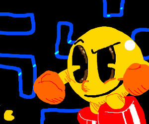 boxing pacman puncing classical pacman