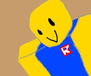 Noob Roblox Drawception
