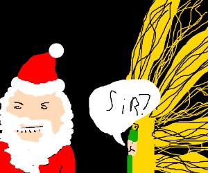 Santa's on the Naughty List