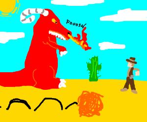 Cowboys vs Dragons