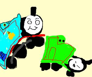 Thomas the Train is ready