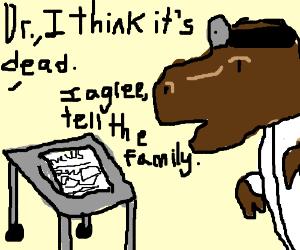 Newspaper Media is dead, dinosaur agrees