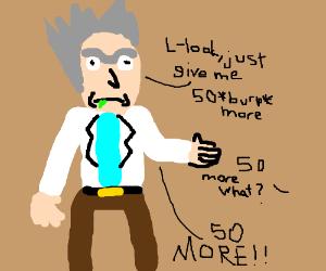 Rick demands 50 more