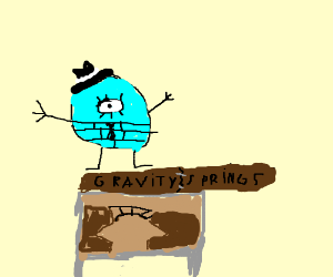 Crudely drawn Bill Circle from Gravity Springs