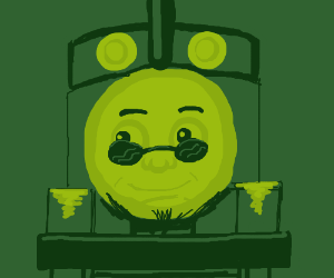 Hipster Thomas the Tank Engine