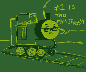 Thomas the Tank Engine is a hipster