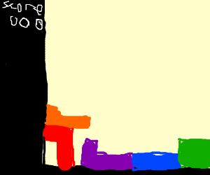 Worst game of Tetris