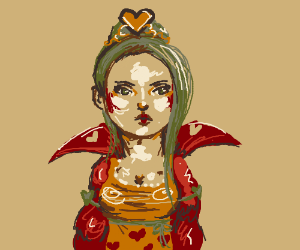 Kawaii queen of hearts
