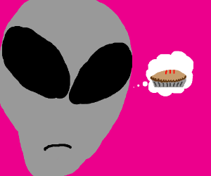 ALiEN WANTS PiE