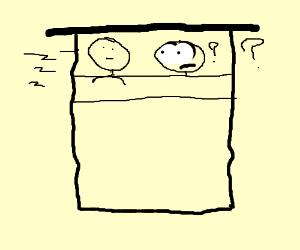 Waking up next to someone