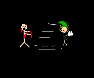 Hermey(Elf)BrutallyStealsTooth&RunsOffInGlory