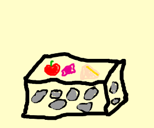 I think is a stone lunchbox