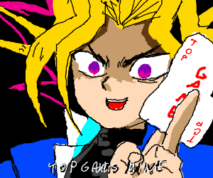 Yugi desperately hopes for a top game