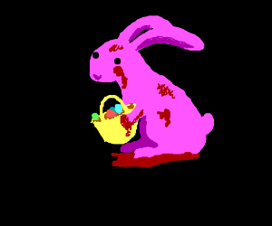 Bloody Easter bunny