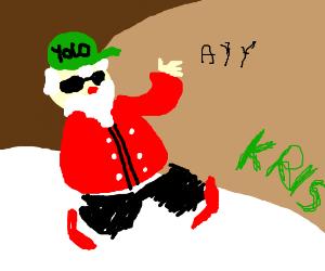 Pimp Santa
