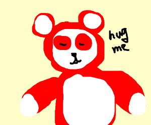 Red panda wants hugs