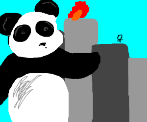 Pandazilla attacks city