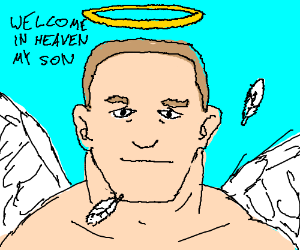 John Cena is an angel, and you are his son!