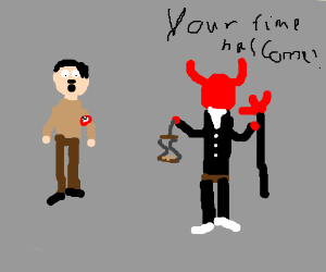 Hitler's time is up