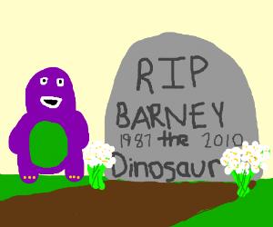 """barney tombstone """"greatest dream world w/o jew"""