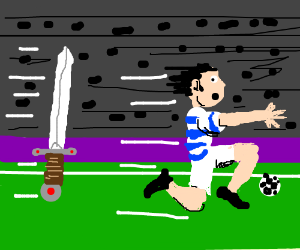 Qpr runs away from sword
