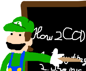 green guy from mario teaches CoD