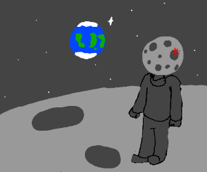 the man in the moon gets pretty upset