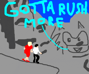 Sanic has to Rushmore