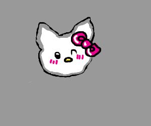 You're kawaii just like Hello Kitty!