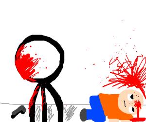 Stick ma shoots a innocent boy