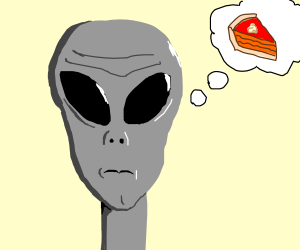 Zeta Reticulan dreams of pie