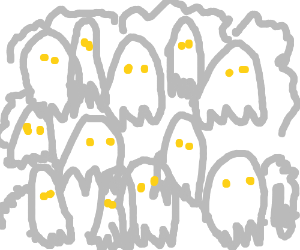 Lots of ghosts