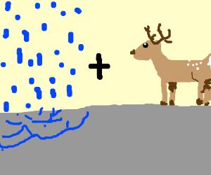 A RAIN Deer, get it? Ha