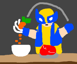 cooking with wolverine