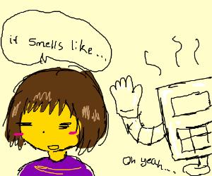 Smells like Mettaton.