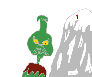 the grinch wants to scale mount everest