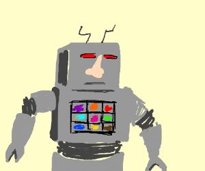 Nose bot 9000: World's best nose robot